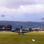 Battle of Britain Flypast Today