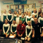 Footy4Girls Score with the Public at Tesco