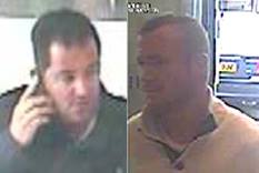 Police - 2 Men Re Stolen Andover Bank Card