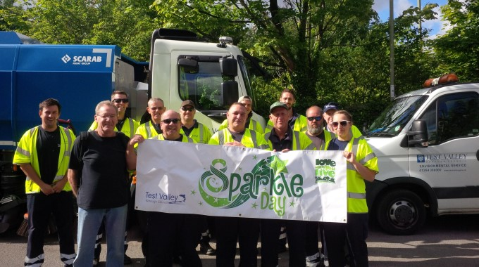 TVBC - Sparkle Day Team at Artists Way in Andover