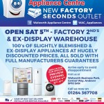 Walworth Appliance Centre - Opening 2015