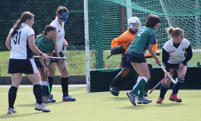Andover Hockey Ladies 3 - Not giving up