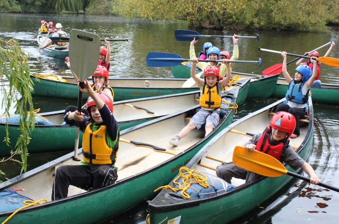 Andover Leisure Centre - Bumper Year Canoes