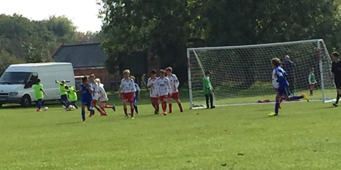Andover Town Youth FC - 12s Blue 20151004