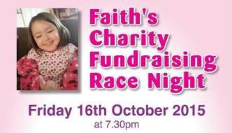 Faith's Fundraising Race Night