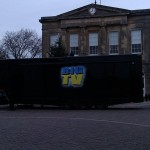 The Big TV Screen Has Arrived for Tonight's Switch On