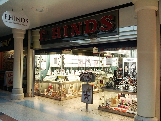 F Hinds Andover