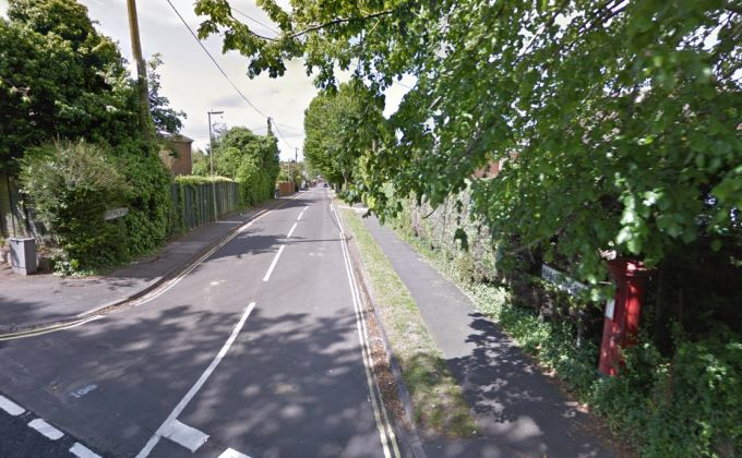 Humberstone Road Andover (image courtesy of Google Map)
