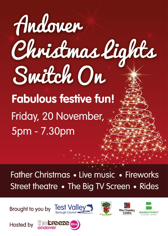 Lights - Xmas Lights Switch On Banner 3x1m