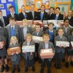 Rookwood Pupils Box up the Christmas Spirit