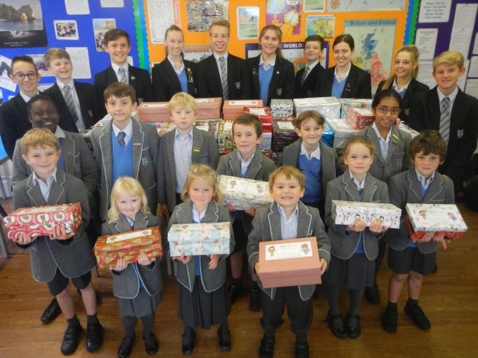 Rookwood Christmas Shoeboxes Appeal 2015