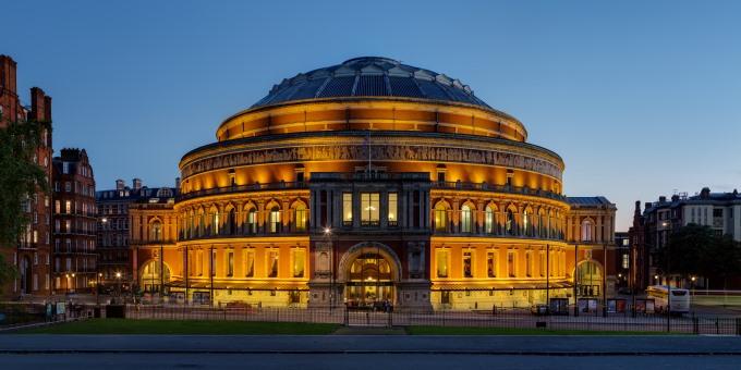 Royal Albert Hall London (image courtesy of Wikipedia)