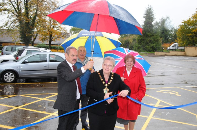 TVBC - Andover Magistrates Court Opening Car Park