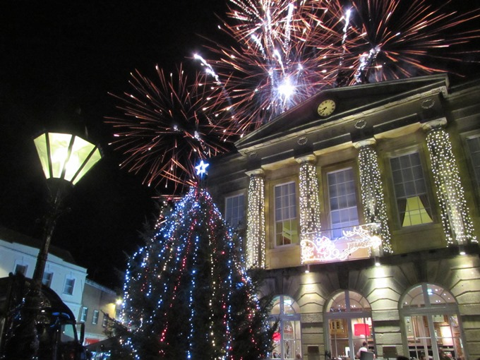 TVBC - Fireworks over the Guildhall 20 Nov 2015