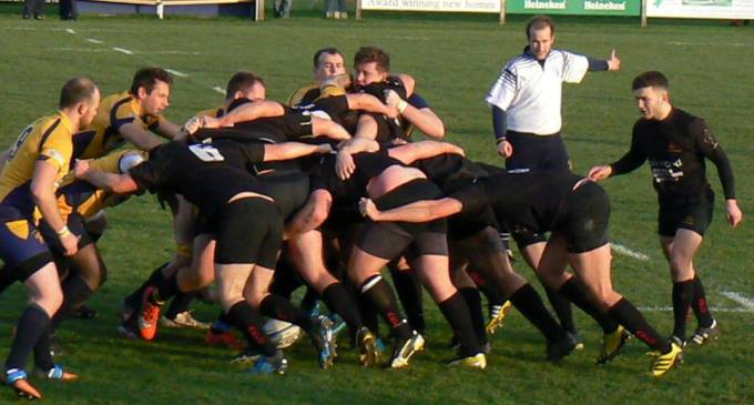 Andover destroy basingstoke scrum