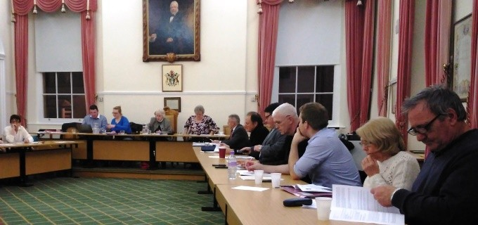 Andover Town Council Meeting 20160114