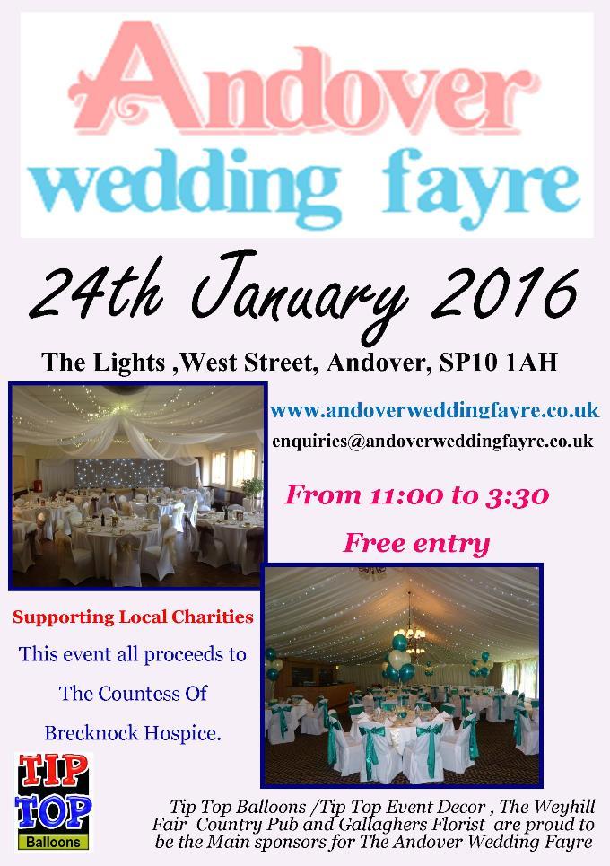 Andover Wedding Fayre 2016