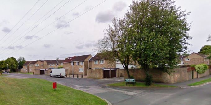 Cricketers Way in Andover (image courtesy of Google)