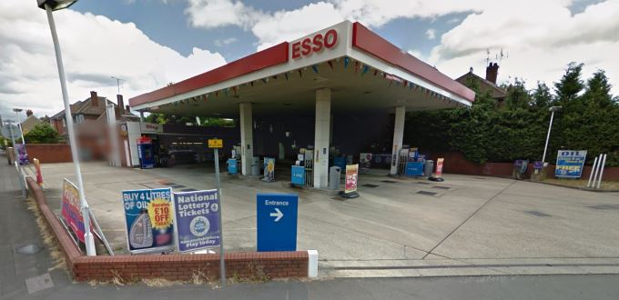 Esso Garage Bridge Road Cove (image courtesy of Google)