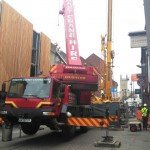 Telehandler Recovery Underway in the High Street