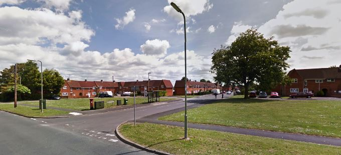 King George Road in Andover (image courtesy of Google)
