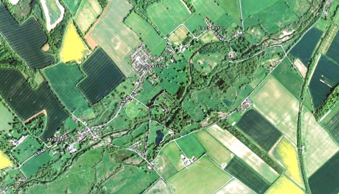 Longparish - Aerial View