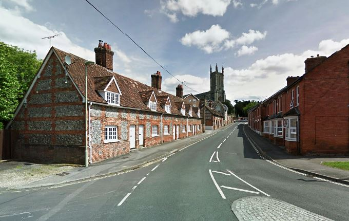 Marlborough Street Andover (image courtesy of Google)