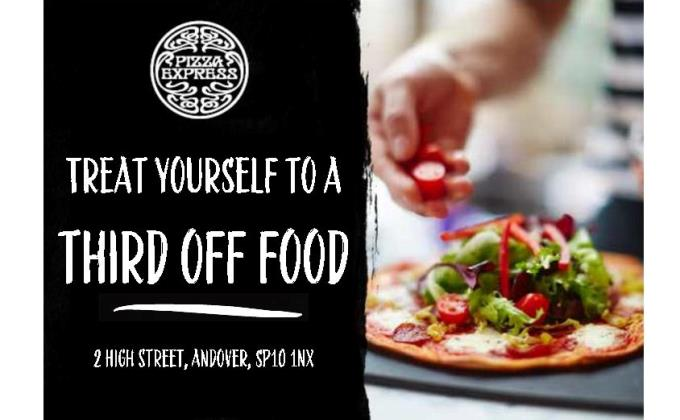Pizza Express Andover - Voucher Third Off