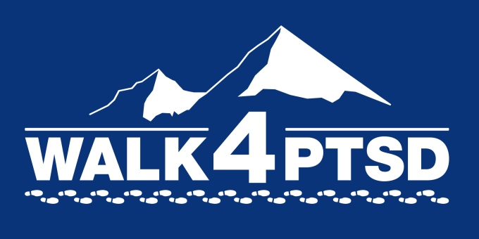 Walk 4 PTSD Logo - Blue