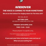 The Voice Comes to Andover