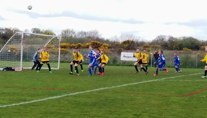 Andover Town Youth FC 12s Blue 20160424-1