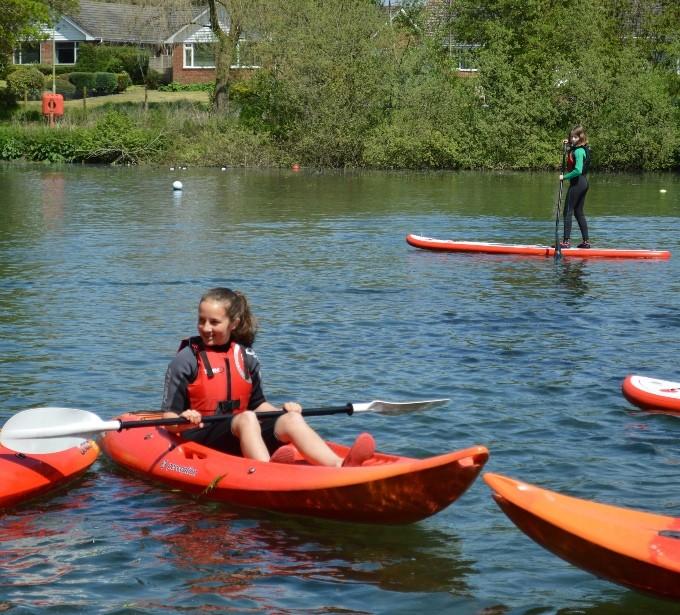 Charlton Lakeside - Kayak and Paddleboarding New to Charlton Lakeside 1