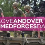 Get a Free Stand at Andover Armed Forces Day
